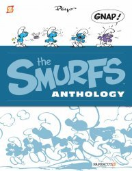 Papercutz's The Smurfs Anthology Hard Cover # 1