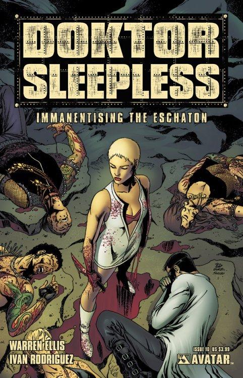 Avatar Presss Doktor Sleepless Issue 10