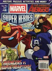 Redan's Marvel Super Heroes Magazine Issue # 16
