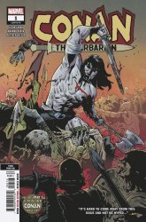 Marvel Comics's Conan the Barbarian Issue # 1 - 3rd print