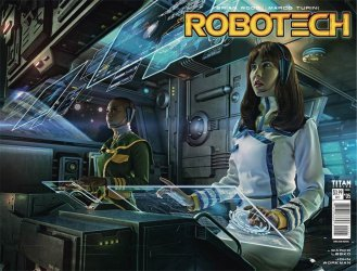 Titan Comics's Robotech Issue # 5b