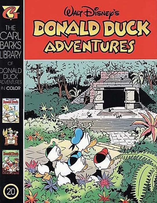 Gladstones Carl Barks Library Of Walt Disneys Donald Duck Adventures In Color Issue 20