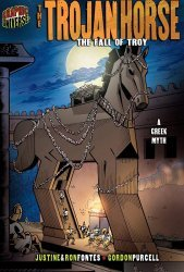 Lerner Publishing Group's Graphic Universe: Trojan Horse - Fall of Troy Hard Cover # 1