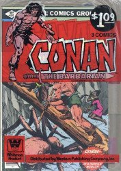 Marvel Comics's Conan the Barbarian Soft Cover # 3-pack-b