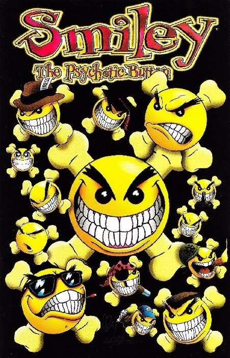 smiley the psychotic button 1 chaos comics