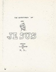 Gilbert Shelton's Adventures of Jesus Issue # 1facsimile