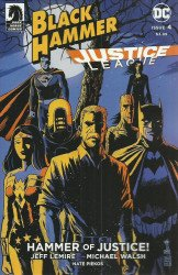 Dark Horse Comics's Black Hammer / Justice League: Hammer of Justice Issue # 4c