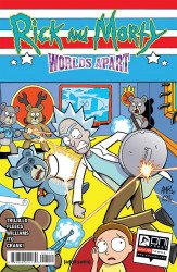 Oni Press's Rick and Morty: Worlds Apart Issue # 4