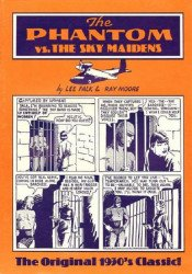 Ken Pierce, Inc's Phantom vs the Sky Maidens Soft Cover # 1