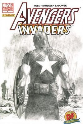 Marvel Comicss Avengers Invaders Issue 4dynamic Forces