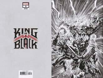 Marvel Comics's King in Black Issue # 3g
