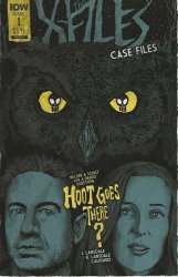 IDW Publishing's X-Files: Case Files - Hoot Goes There Issue # 1b
