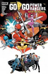 BOOM! Studios's Saban's Go Go Power Rangers: Back To School Issue # 1