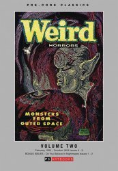 PS Artbooks's Pre-Code Classics: Weird Horrors Hard Cover # 2