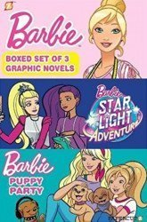 Papercutz's Barbie Boxed Set Special set box