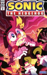 IDW Publishing's Sonic the Hedgehog Issue # 39ri
