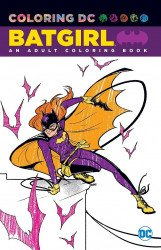 DC Comics's Coloring DC: Batgirl Soft Cover # 1