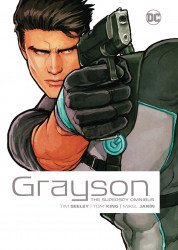 DC Comics's Grayson: The Superspy - Omnibus Hard Cover # 1-2nd print