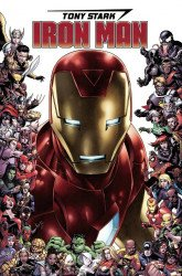 Marvel Comics's Tony Stark: Iron Man Issue # 15c