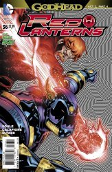 DC Comics's Red Lanterns Issue # 36