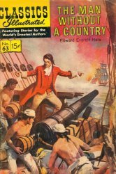 Gilberton Publications's Classics Illustrated #63: The Man Without a Country Issue # 4