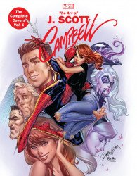 Marvel Comics's Marvel Monograph: J. Scott Campbell - The Complete Covers Soft Cover # 1