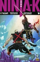 Valiant Entertainment's Ninja-K Issue # 8e
