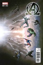 Marvel's The New Avengers Issue # 24b