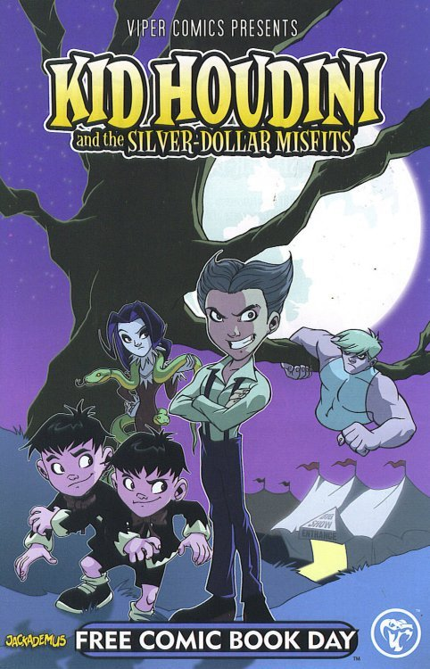 Kid Houdini Book Cover