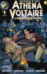 Action Lab Entertainment's Athena Voltaire and the Sorcerer Pope Issue # 1