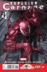 Marvel Comics's Superior Carnage Issue # 1