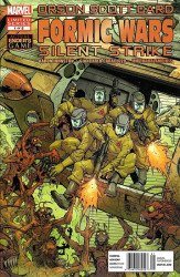 Marvel Comics's Formic Wars: Silent Strike Issue # 1b