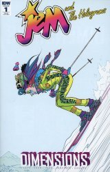 IDW Publishing's Jem and The Holograms: Dimensions Issue # 1ri-b