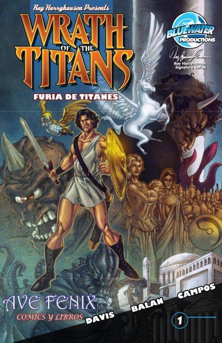 wrath of the titans revenge of medusa 1b bluewater productions