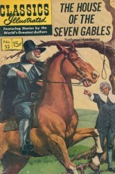 Gilberton Publications's Classics Illustrated #52: The House of the Seven Gables Issue # 1f