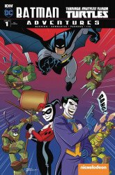 IDW Publishing's Batman / Teenage Mutant Ninja Turtles Adventures Issue # 1yesteryear-a