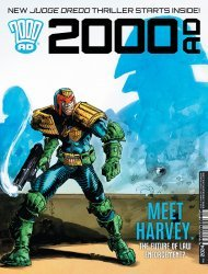 Rebellion's 2000 A.D. Issue # 2024