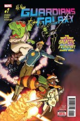 Marvel Comics's All-New Guardians of The Galaxy Issue # 1
