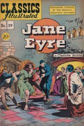 Gilberton Publications's Classics Illustrated #39: Jane Eyre Issue # 1d