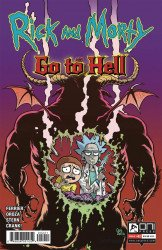 Oni Press's Rick and Morty: Go to Hell Issue # 2b