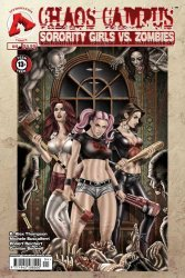 Approbation's Chaos Campus: Sorority Girls vs. Zombies Issue # 4