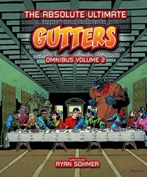 Blind Ferret Entertainment's The Absolute Ultimate Gutters Omnibus Hard Cover # 2