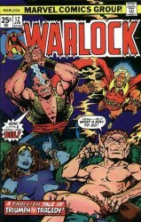 Marvel Comics's Warlock Issue # 12
