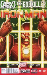 Marvel Comics's Iron Man Issue # 7b