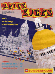 LEGO Systems's LEGO Builders Club: Brick Kicks Issue fall 1991