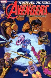 IDW Publishing's Marvel Action: Avengers Issue # 10 - 2nd print