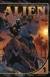 Vault Comics's Alien Bounty Hunter TPB # 1