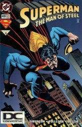 DC Comics's Superman: Man of Steel Issue # 49b