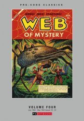 PS Artbooks's Pre-Code Classics: Web of Mystery Hard Cover # 4
