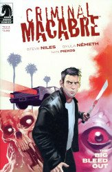 Dark Horse Comics's Criminal Macabre: Big Bleed Out Issue # 3